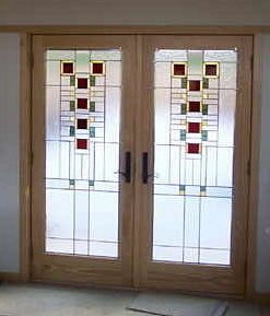 The vinery stained glass studio for all your stained glass for All glass french doors