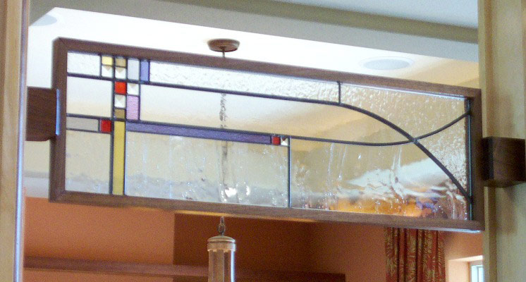 Vinery Glass stained glass accent window