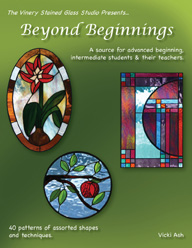 Beyond Beginning Stained Glass Pattern Book